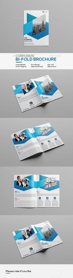 Corporate Tri Fold Brochure Template Tri Fold Brochure Template