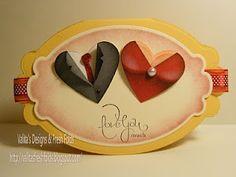 Valita's Designs & Fresh Folds: valentine heart punch couple