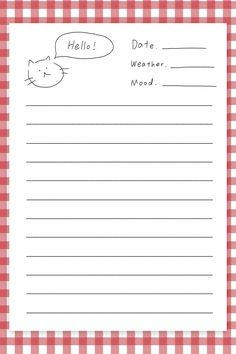 goodnotes journal templates