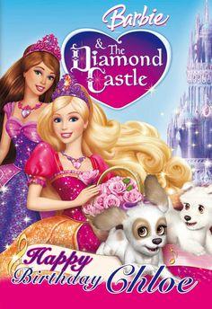Barbie Diamond Castle Poster