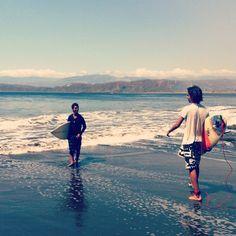Surfer boys
