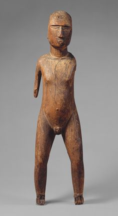 Male Figure (Tiki) [Mangareva, Gambier Islands, French Polynesia] (1979.206.1466) | Heilbrunn Timeline of Art History | The Metropolitan Museum of Art