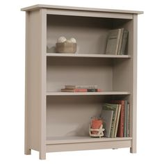 Beachcrest Home Bithlo Bookcase. $100 on sale.  Have a rainwater pale green color