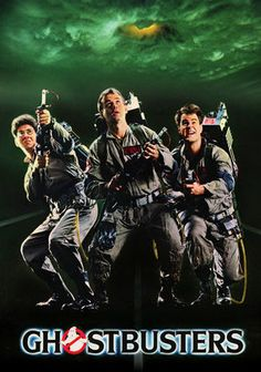 """Ghostbusters (1984) After losing their academic posts at a prestigious college, a team of parapsychologists goes into business as """"ghostbusters"""" who exterminate ghouls, hobgoblins and supernatural pests -- and are soon hired by a cellist to purge her digs of demons."""