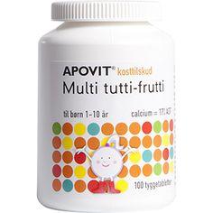 Apovit Multi tutti frutti - vitamin supplement children age 1-10