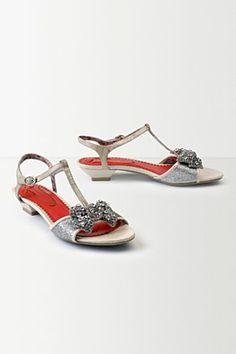 Glimmer Bowed Sandals | Anthropologie.eu