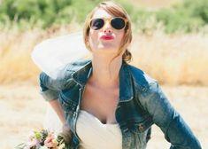 最高の甘辛MIX♡ウェディングドレス×デニムジャケットの可愛い花嫁ファッションCollection