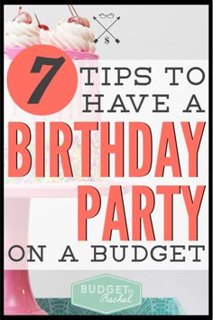 Plan a fun, creative birthday party for your kids without spending a lot of money with these easy ideas.