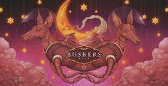 Buskers Beer Labels by Felideus Bubastis, via Behance