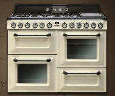 #Smeg || Unf this stove is gorgeous. I want one sooooo bad <3