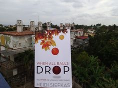 #WhenAllBallsDrop spotted outside of Havana, #Cuba in a neighborhood called Jaimanitas. Taken from Jose Fuster's terrace. Where are you reading WABD? http://www.amazon.com/When-All-Balls-Drop-Everything/dp/1627871217 #newbooks