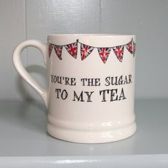 Valentines Mugs, My Tea, The Originals, Tableware, Dinnerware, Dishes