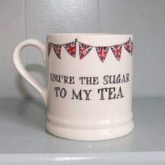 Valentines Mugs, My Tea, The Originals, Tableware, Dinnerware, Tablewares, Dishes, Place Settings