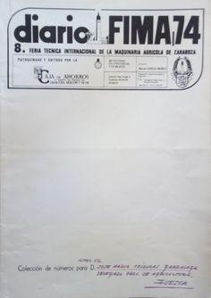 Del 21 al 28 de febrero.  Sin redes sociales, ni páginas web... así nos enterábamos de las noticias de la FIMA (del 20-24, en Zaragoza) http://roble.unizar.es/record=b1380043