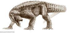 cocodrilo prehistorico