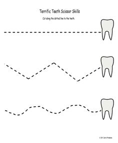 Terrific Teeth Scissor Skills and a couple more freebies