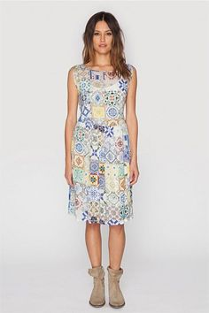 Mosaic Flair Dress