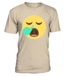 Emoji Face Sleepy  #gift #idea #shirt #image #music #guitar #sing #art #mugs #new #tv #cool  #husband #wife