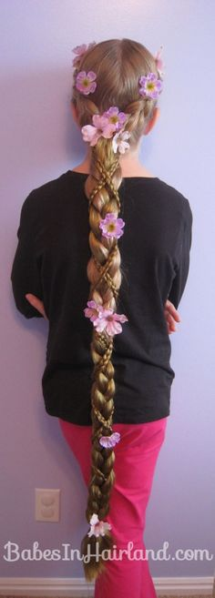 Rapunzel Hair Tutorial – Using Extensions