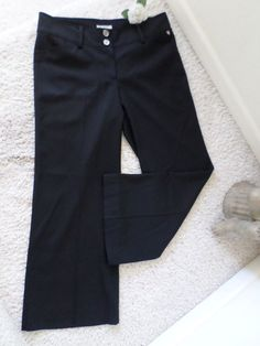 BURBERRY WOMENS TROUSER PANTS ITALY 44~BURBERRY BUSINESS CASUAL PANTS 10~95% NEW #BURBERRY #DressPants