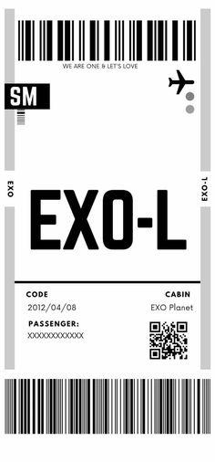 Kpop Exo, Exo Chanyeol, Exo Tickets, Exo For Life, Exo Anime, Exo Songs, Exo Ot12, Kaisoo, Exo Album