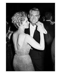 Cary Grant and Kim Novak - Frank Worth Photography