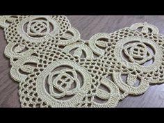 Tığişi Örgü Kare Dantel Motifi Yapımı & Crochet - YouTube