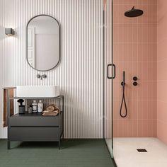 3d Tiles, Blue Tiles, Kids Toilet, Ikea, Kitchen And Bath Design, Bathroom Colors, Bathroom Ideas, White Stone, Bathroom Furniture