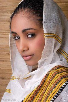 Beautiful classic #Habesha girl #Ethiopia #Eritrea #Africa #Hagereseb