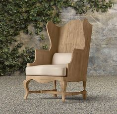 sabbespot: Wooden Wing Back Chairs