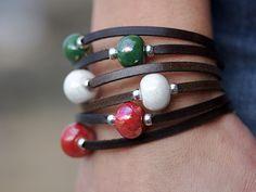 Nice, Bracelets, Shop, Leather, Jewelry, Necklaces, Bangle Bracelets, Chokers, Beautiful Things
