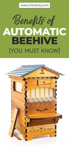 A flow hive is a type of beehive that is custom-built featuring patented technology. With one, you do not have to worry about stings, stressful extraction sessions, or killing bees in the process. Let's learn more benefits about it. Backyard Beekeeping, Chickens Backyard, Honey Bee Benefits, Types Of Honey Bees, Honey Bee Farming, How To Kill Bees, Bee Facts, Bed And Breakfast, Bee Hive Plans