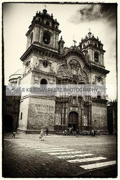 Latin-Point Photography By Kristian Peetz: Church of the Society of Jesus (Cusco, Peru)