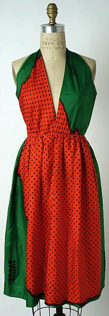 Designer: Geoffrey Beene (American, Haynesville, Louisiana 1927–2004 New York) Designer: Textile attributed Michael Vollbracht (American, born 1947) Date: ca. 1971 Culture: American Medium: silk