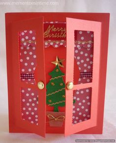 Christmas Countdown - Christmas Window Cards