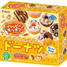 Donuts Japanese candy kit