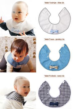 Perfect for the little men! Handmade Baby Clothes, Baby Kids Clothes, Baby Bibs Patterns, Bib Pattern, Baby Crafts, Baby Sewing, Baby Boy Outfits, Baby Quilts, Baby Knitting