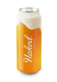 Naked Beer – freizügiges Verpackungsdesign von Timur Salikhov