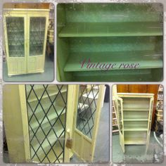 Shabby chic display unit painted with autentico chalk paint