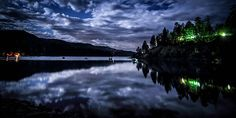 Night Reflections by Chris Multop  http://capturingchange.artistwebsites.com/