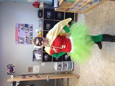 Homemade robin costume :)