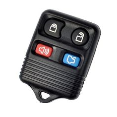 Keyless 4 Buttons Remote Key Shell Case For Ford Mustang Focus Lincoln Ls Town Car Mercury Grand Marquis Sable No Chips, 2015 Amazon Top Rated Car Safety & Security #CarAudioorTheater