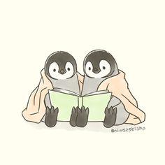 Pinguin Drawing, Pinguin Tattoo, Kawaii Wallpaper, Animal Wallpaper, Disney Wallpaper, Cute Kawaii Drawings, Cute Animal Drawings, Adorable Drawings, Penguin Art