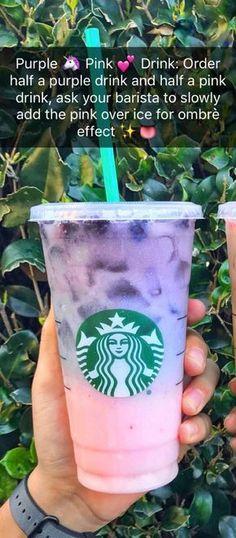 Secret Starbucks Hacks You Had No Idea Existed ✨Secret. Secret Starbucks Hacks You Had No Idea Existed Starbucks Hacks, Starbucks Frappuccino, Bebidas Do Starbucks, Starbucks Secret Menu Items, Healthy Starbucks Drinks, Starbucks Secret Menu Drinks, How To Order Starbucks, Starbucks Refreshers, Deserts