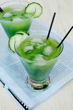 Cucumber-Cilantro Margarita.