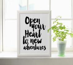 Nursery Decor Printable Adventure Awaits Adventure by TheCasaNova