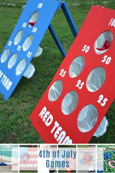 These of July games are guaranteed to be entertaining! From glow-in-the-dark ring toss to balloon dart there is something for everyone! 4th Of July Games, Fourth Of July, Sunday School Games, Ring Toss, Diy Games, July Crafts, Favorite Holiday, Kids Playing, Summer Fun