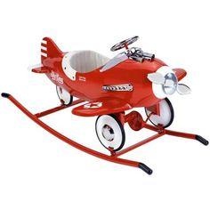 Rocker In Red For Retro Pedal Cars : Toys For Boys At Poshtots