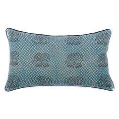 Royal Elephant Cotton Lumbar Pillow