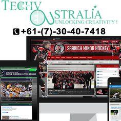 Website design company in Australia Techy-Australia- +61-(7)-30-40-74-18